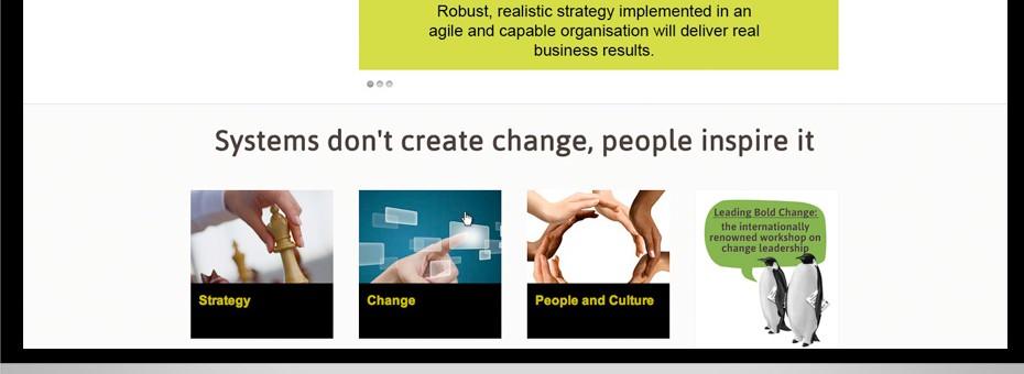 12th Brain Brisbane based Change Consultants web design custom wordpress project