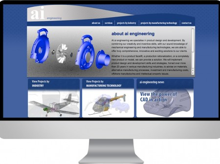 AI Engineering a manufacturing product design website for the Sunshine Coast based business
