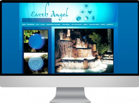 Earth Angel Sunshine Coast author photographer and graphic media website designer for noosa publisher