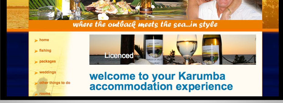 End of the Road Motel website design animations SEO karumba queensland tourism industry