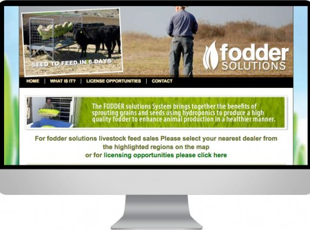 Fodder Solutions Toowoomba Queensland manufacturing web site design Australia
