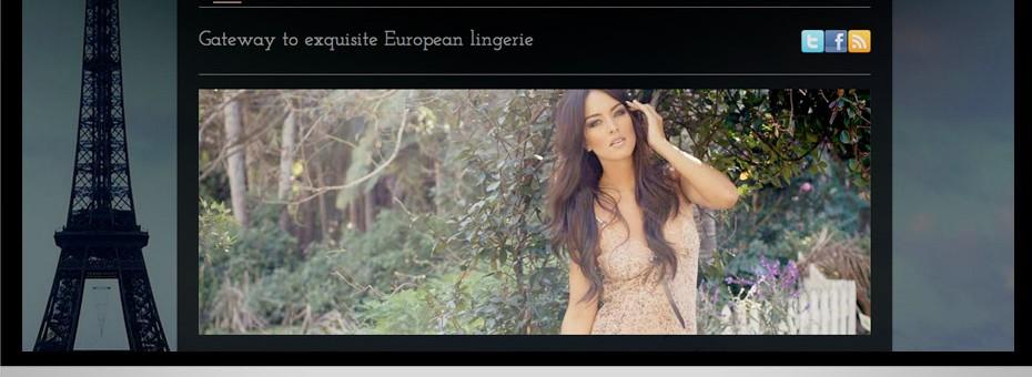 sunshine coast based e-commerce wordpress custom website for House of Lingerie shopping cart