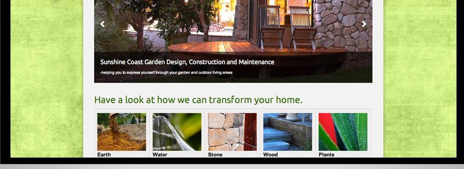 leigh willert sunshine coast landscape design responsive website