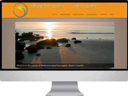 Wordpress natural medicine website development project for Melbourne fitzroy naturopath Natalie Trevaskiis