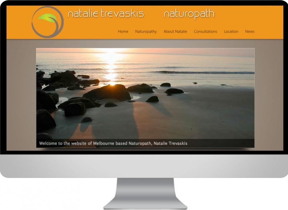 Wordpress natural medicine website development project for Melbourne fitzroy naturopath Natalie Trevaskiis