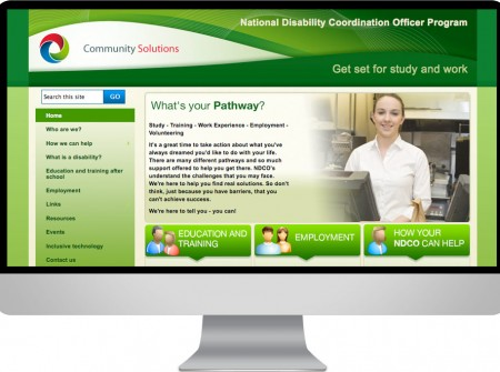 NDCO Queensland Wide Bay disability-employment-program-graphic-website-design-wordpress-media