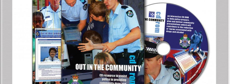 cdrom design multimedia project sunshine coast for Police out in the community drug information training