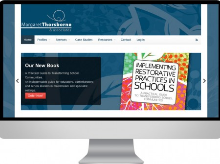Thorsborne & associates needed a wordpress reponsive web design on the sunshine coast for restorative justice consultants
