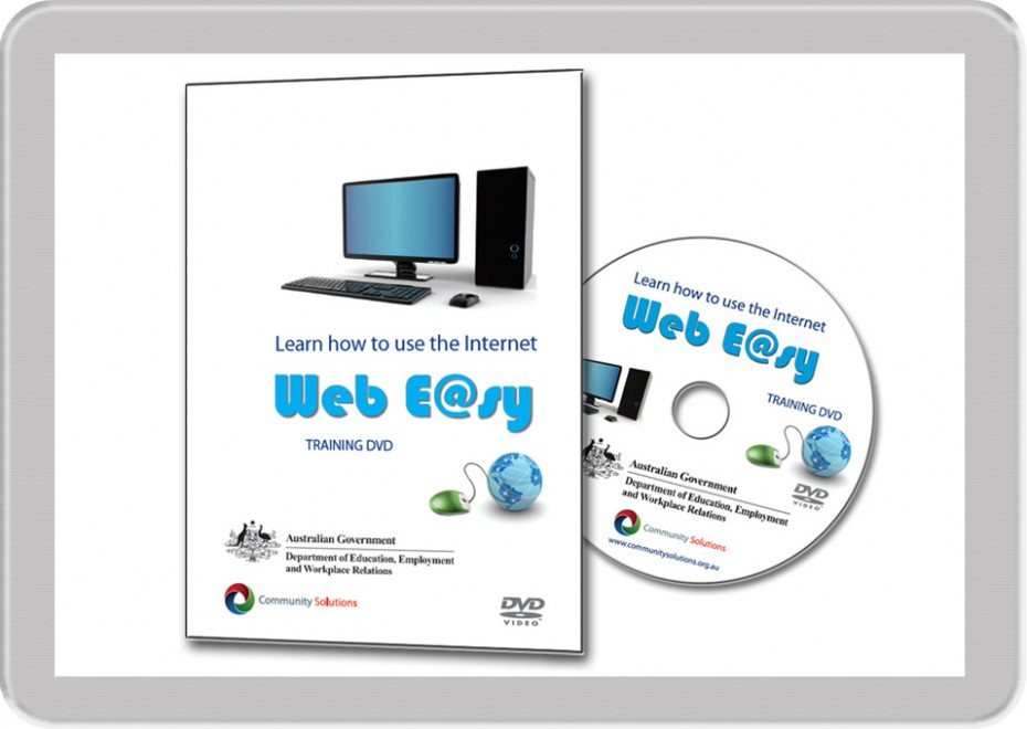 this sunshine coast multimedia production called WebEasy is a guide to how to use the internet