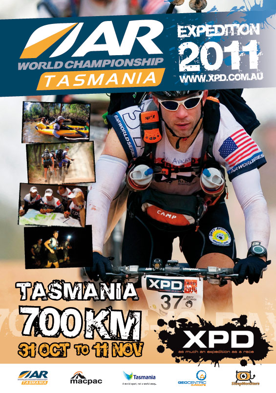 graphic designer sunshine coast services for XPD poster 2010 sport event