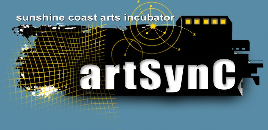 sunshine coast arts incubator logo for artsync