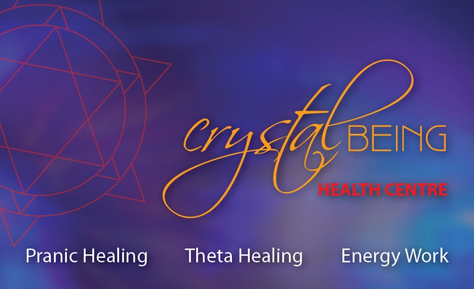 crystal healing centre business card brett treacy sunshine coast