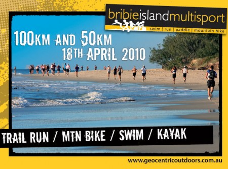 flyer print graphics design project for bribie island multisport
