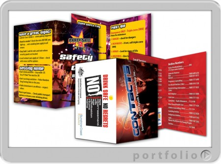 booklets designed printed sunshine coast business cards