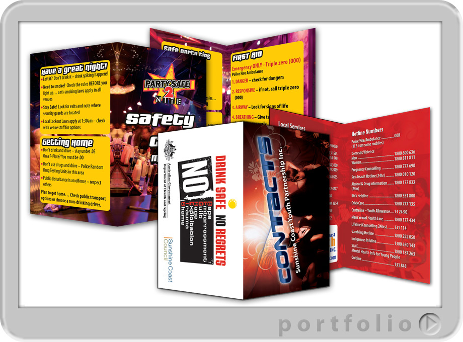 Business card booklets booklets designed printed sunshine coast business cards reheart Gallery