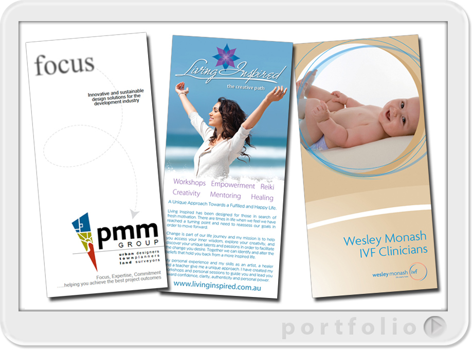 design and printing of flyers for business projects