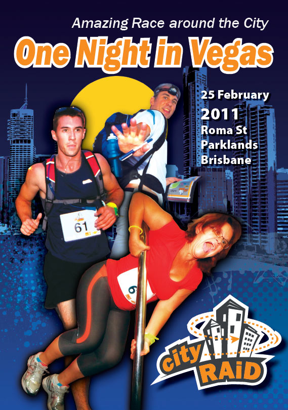 design posters sunshine coast project for cityraid 2011 sports events