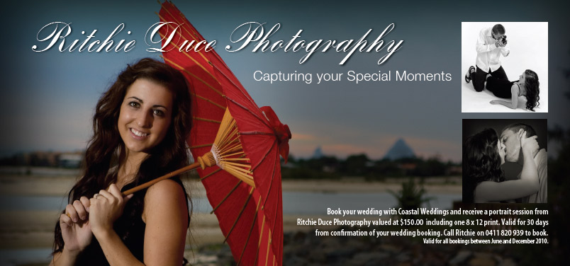 sunshine coast print design graphics project for coastal weddings photography
