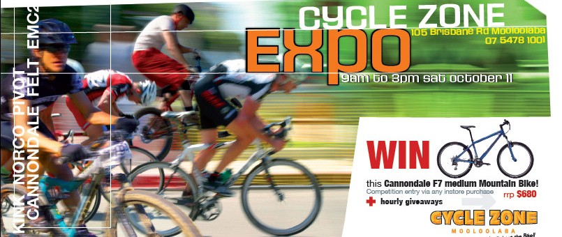 press print design mooloolaba for cyclezone expo dl project