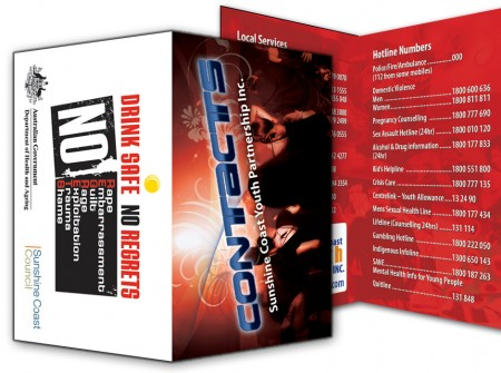 business card booklets sunshine coast print designers doublesided