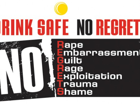 sunshine coast program designer for drink safe no regrets logo