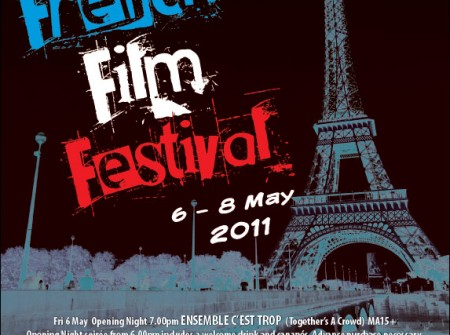 sunshine coast print design graphic project publish for french film festival 2011