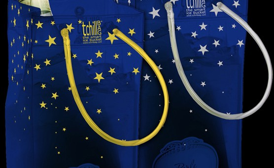 designer products packaging australia for gold silver tchill bag