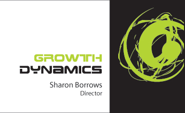brisbane consultancy business card design print growth dynamics
