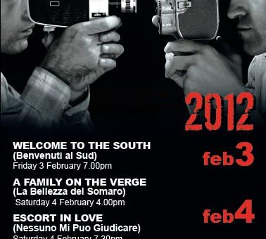 graphics poster designer for italian film festival 2012 sunshine coast nambour printer