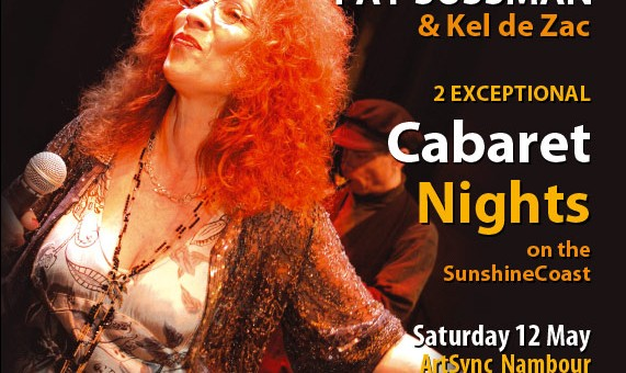 performance design graphics poster for klesmer night on the sunshine coast
