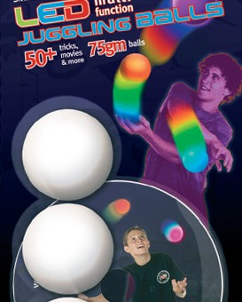brisbane project productions graphics led juggling balls packaging design