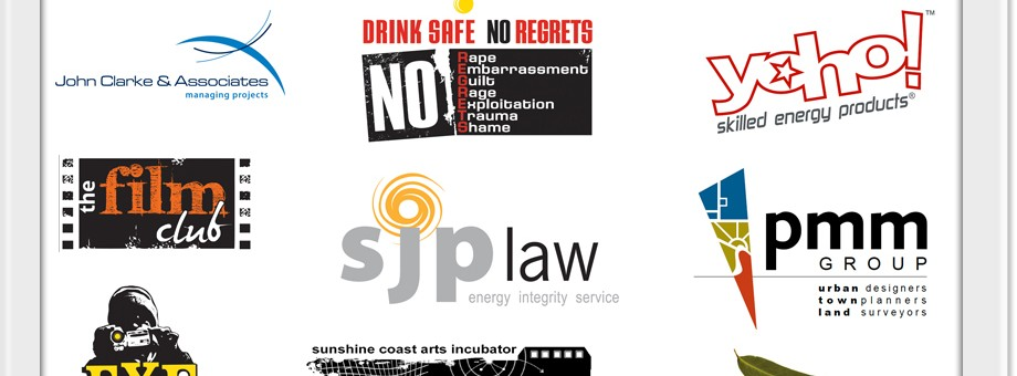 brand development graphics sunshine coast for logo designs