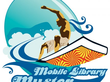 sunshine coast designer graphics for maroochydore library muster