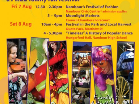 poster print publish sunshine coast for nambour festival graphic design