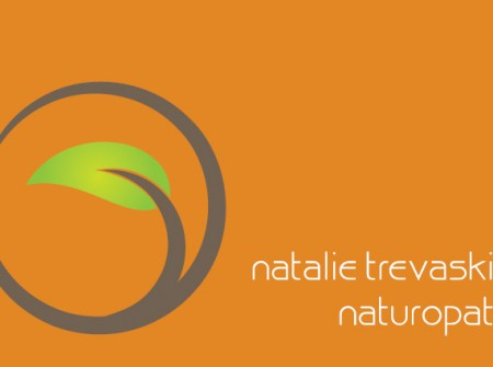 melbourne naturopath business card design print for natalie trevaskis
