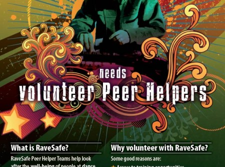 print productions sunshine coast project for ravesafe volunteers