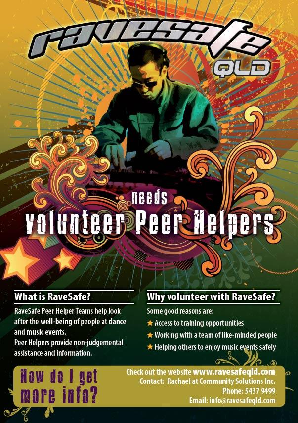 print productions sunshine coast project for ravesafe volunteers