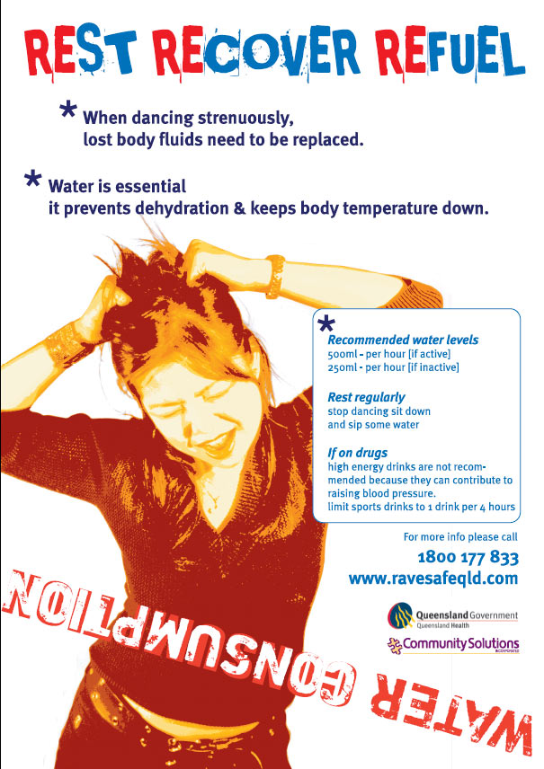 print design graphics queensland project for ravesafe water education