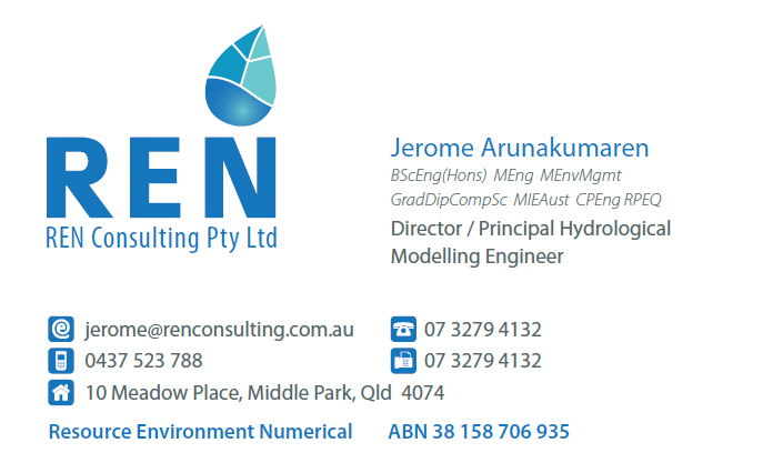 Business card graphic design and printing working planet web and print design brisbane ren hydrology business card colourmoves