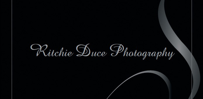 sunshine coast business card design print layout for ritchie duce photography