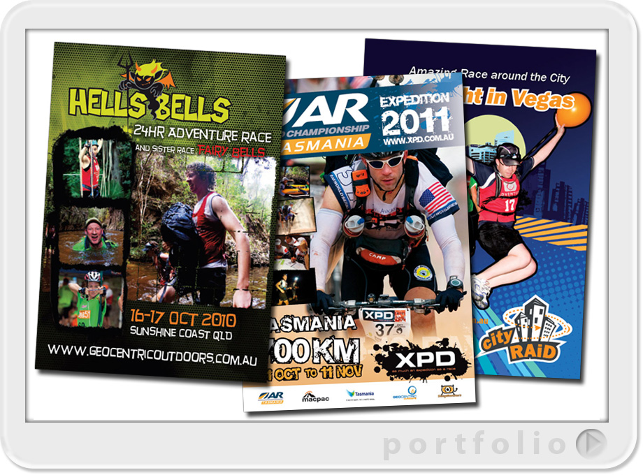 sport flyer design printing of australian projects