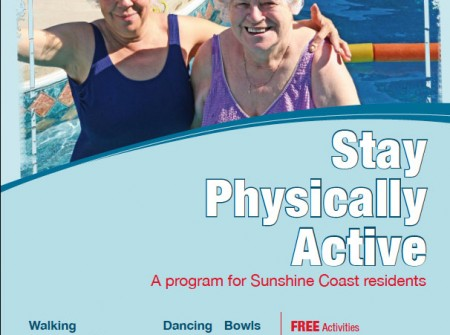 graphics sunshine coast printing for stay physically active poster