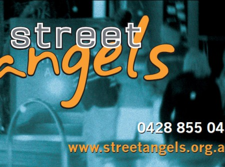 print sunshine coast graphics for streetangels business card design