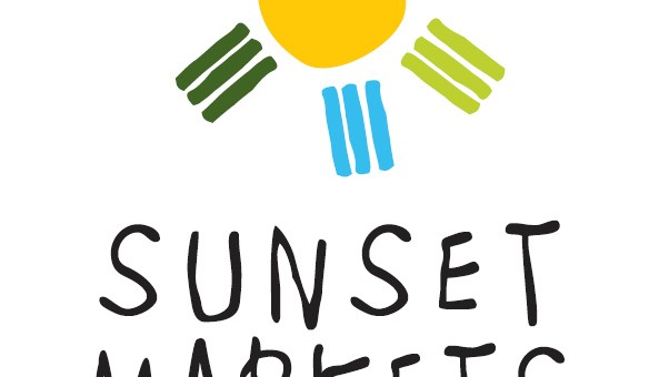 sunshine coast design graphics project for sunset markets logo signage