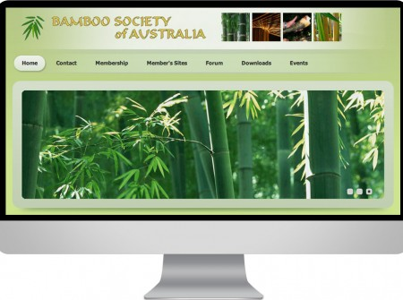 Bamboo Society of Australia needed their existing Joomla website redeveloped