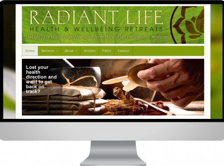 Radiant Life Retreats organise health seminars across the world and australia through this wordpress website.