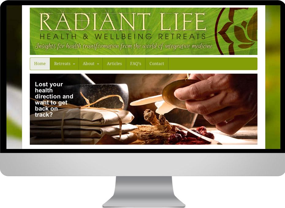 Radiant Life Retreats organise health seminars across the world and australia through this wordpress website.