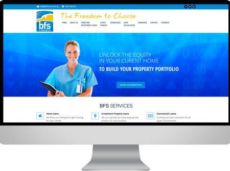 binding-financial services website reponsive html sunshine coast maroochydore