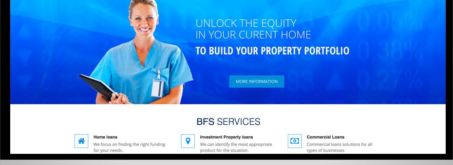 binding-financial services website reponsive html sunshine coast maroochydore