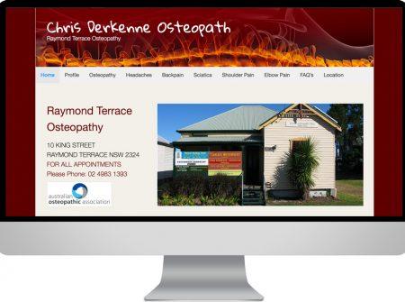 raymond terrace osteopathy clinic chris derkenne osteopath